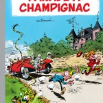 Spirou 19 cover FR 'Panade à Champignac' (ill. Franquin; (c) Dupuis and the artist; image from dupuis.com)