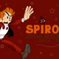 Christmas Spirou ('Spirou de Noël'; ill. Hagenmerac, (c) the artist; Spirou (c) Dupuis; image from deviantart.com)