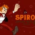 Christmas Spirou ('Spirou de Noël'; ill. Hagenmerac, (c) the artist; Spirou (c) Dupuis; image from deviantart.com)