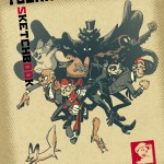 Yoann Sketchbook cover (ill. Yoann; (c) Comix Buro and the artist; Spirou (c) Dupuis)