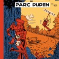 'Intrigue au Parc Duden' (ill. Bruno Wesel; (c) the artist, 2013; Spirou (c) Dupuis; image from blogspot.com)