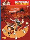"Spirou 54 'Le Groom de Sniper Alley' cover (DE) ""Spirou & Fantasio 52: Der Page der Sniper Alley"" (ill. Yoann & Vehlmann; (c) Carlsen, Dupuis and the artists; from carlsen.com)"