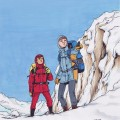 """Spirou and Fantasio in Snow"" (ill. Jemppu; (c) the artist; Spirou (c) Dupuis; image from deviantart.com)"