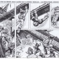 'Ptirou' pencils, excerpt (ill. Verron & Sente; (c) Dupuis and the artists; image from Tonnere de Bulles #8 via facebook.com)