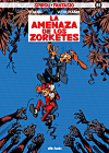 "Spirou 51 'Alerte aux zorkons' (ES) ""Amenaza de los zorketes"" (ill. Yoann & Vehlmann; (c) dibbuks, Dupuis and the artists; image from dibbuks.es)"