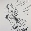 """Count Champignac sketch """"pour Fantasmagorie"""" (ill. Tome; (c) the artist; Spirou (c) Dupuis; image from 2dgalleries.com)"""
