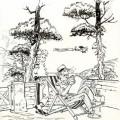 Spirou et Fantasio, hommage (ill. Denis Bodart; (c) the artist, 2015; Spirou (c) Dupuis; image from denis-bodart.com)