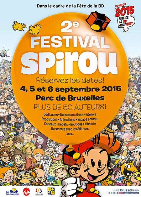 Festival Spirou 2015 poster