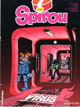 "'Spirou album du journal' #2318 cover (""digest"", 'recueil', 'reliure'; ill. Tome & Janry; (c ) Dupuis and the artists; image from spirou.free.fr)"