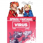 Cinebook coming soon, 'Virus' (ill. Tome & Janry; (c) Cinebook and the artists; Spirou (c) Dupuis)