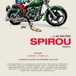 '... y se escribe Spirou' Mallorca poster (image from facebook.com)