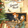 "Journal de Spirou #4051-4052 'Spécial Noël' cover (""Christmas Special""; ill. Yoann & Vehlmann; 2015 (c) Dupuis and the artists; image from izneo.com)"