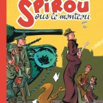 'Spirou sous le manteau' second edition cover (ill. Alec Severin; 2015 (c) Dupuis and the artist; image from inedispirou.com)