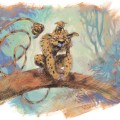 """Realistic"" Marsupilami from 'Yoann Sketchbook' (ill. Yoann; (c) the artist and Comix Buro; Marsupilami (c) Marsu Productions; image from yozone.fr)"