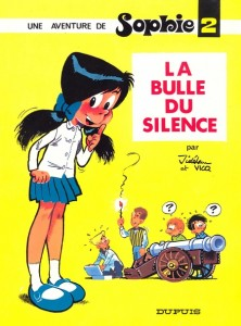 Sophie #2 'La Bulle du silence' (ill. Jidéhem; (c) Dupuis and the artist; image from librarything.com)