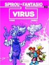 Spirou & Fantasio 33 'Virus' EN (ill. Tome & Janry; Copyright (c) 2015-2016 by Cinebook, Dupuis and the artists; image from amazon.co.uk)