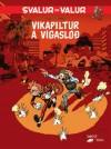 """Spirou 'Le Groom de Sniper Alley' IS (""""Vikapiltur á vígaslóð""""; ill. Yoann & Vehlmann; Copyright (c) 2015 by Froskur Útgáfa, Dupuis and the artists; image from myndasogur.is)"""