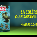 YouTube thumbnail for 'La Colère du Marsupilami' ad (ill. Yoann, Vehlmann, Dupuis; Copyright (c) 2016 Dupuis and the artists; image from youtube.com)