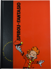 "Spirou ""Rombaldi"" red intégrale cover (ill. Tome & Janry; Copyright (c) Dupuis and the artists)"