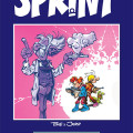 'Sprint: Tome & Janry 1981–1983' NO cover (ill. Tome & Janry; Copyright (c) Outland, Zoom, Dupuis and the artists; image from outland.no)