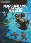 "Spirou & Fantasio #55 ""Marsupilamis Vrede"" cover SE ('La Colère du Marsupilami'; ill. Yoann & Vehlmann; 2016 (c) Egmont, Dupuis and the artists; image from serieforum.se)"