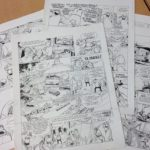 Pages from 'La Lumière de Bornéo' (