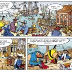 Excerpt from 'Gilles de Geus' (ill. Hanco Kolk & Peter de Wit; image from echtmedia.net))