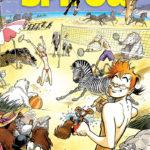 'Journal de Spirou' #4082-4083 cover (ill. Frank Pé; Copyright (c) 2016 Dupuis and the artist; image from dupuis.com)