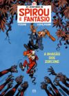 "Spirou & Fantasio #51 ""Spirou e Fantásio: A invasão dos Zorcons "" cover PT ('Alerte aux zorkons'; ill. Yoann & Vehlmann; Copyright (c) Dupuis, Edições Asa and the artist; image from asleiturasdopedro.blogspot.com)"