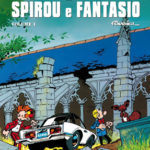 'Le Avventure di Spirou e Fantasio' Fournier 1 cover IT (Spirou & Fantasio #20, 21, 22; ill. Fournier; Copyright (c) Dupuis, Planeta-DeAgostini and the artist; image from comicsedintorni.it)
