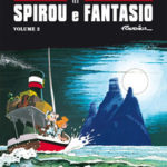 'Le Avventure di Spirou e Fantasio' Fournier 2 cover IT (Spirou & Fantasio #23, 25, 26; ill. Fournier; Copyright (c) Dupuis, Planeta-DeAgostini and the artist; image from comicsedintorni.it)