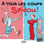'À Tous les coups, c'est Spirou!' cover (ill. Al Severin; Copyright (c) 2016 Dupuis and the artist; image from inedispirou.com)