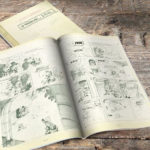Spirou & Fantasio #20 'Le Faiseur d'or' VO pencil sketches (
