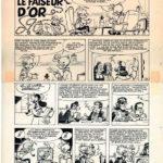 Spirou & Fantasio #20 'Le Faiseur d'or' VO inks (