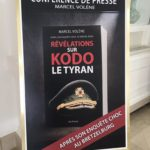 Kodo the Tyrant book poster - teaser for Spirou & Fantasio film (image from twitter.com/marcmissonnier)