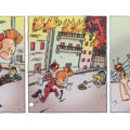 """Spirou's Exquisite Corpse"" p. 53 ('Spirou: Un Cadavre Exquis'; ill. Julien Mariolle; Copyright (c) 2011 Dupuis and the artist; SR scanlation)"
