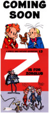 Cinebook coming soon: Z is for Zorglub (ill. Franquin, Tome & Janry; Copyright (c) 2016 Cinebook, Dupuis and the artists; image from 'The Wrong Head')