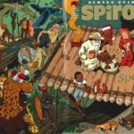 Wraparound cover for Journal de Spirou #4104-4105 (ill. Schwartz; Copyright (c) 2016 Dupuis and the artist; image from bdgest.com)