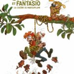 Spirou & Fantasio #55 'La Colère du Marsupilami' deluxe edition (TL) cover (ill. Yoann & Vehlmann; Copyright (c) 2017 Dupuis, Khani and the artists)