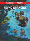 """Svalur og Valur: Hefnd Gormsins"" cover IS (Spirou & Fantasio #55 'La Colère du Marsupilami'; ill Yoann & Vehlmann; Copyright (c) Froskur Útgáfa, Dupuis and the artists; image from forlagid.is)"