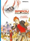 """Das Licht von Borneo"" cover DE (Spirou de... #10 'La Lumière de Bornéo'; ill. Frank & Zidrou; Copyright (c) 2016 Carlsen, Dupuis and the artists; image from carlsen.com)"