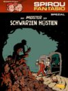 """Der Meiser de schwartzen Hostien"" cover DE (Spirou de... #11 'Le Maître des hosties noires'; ill. Schwartz & Yann; Copyright (c) 2017 Carlsen, Dupuis and the artists; image from carlsen.de)"