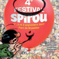Festival Spirou 2017 poster (ill. Franquin etc.; Copyright (c) 2017 Dupuis and the artists; image from dupuis.com)