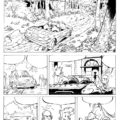 Test page for Spirou one-shot (ill. Richard Di Martino; Copyright (c) 2009 by the artist; Spirou (c) Dupuis; image from zeveryrichblog.blogspot.com)